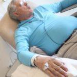 Рис. 1. Для лечения рака анального канала часто используют химиотерапию.