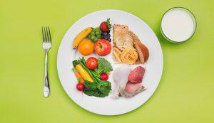 Рис. 3. Здоровая и сбалансированная диета без алкоголя помогут избежать обострения геморроя