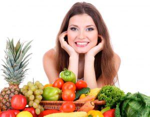 Рис. 2 Правильное питание уменьшает проявление зуда и жжения при геморрое