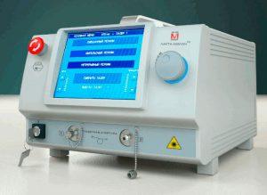 Лазерная установка типа ЛАХТА-МИЛОН для проктологии