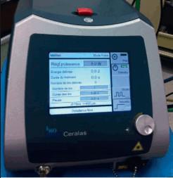 Рис. 3. Диодный лазер для лечения свища прямой кишки.